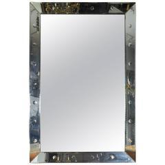 Large Mid-Century Modern Mirror