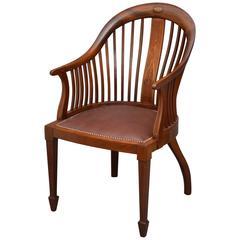 Elegant Edwardian Office Chair
