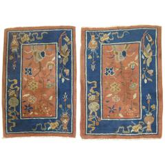 Matching Set of Chinese Art Deco Rugs