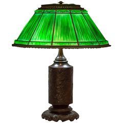 Tiffany Studios Linenfold Lamp