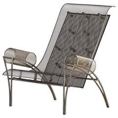 """Toyo Ito Driade """"Suki"""" Armchair in Tubular Steel, Designed in 1987"""