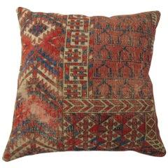 Antique Turkeman Rug Pillow