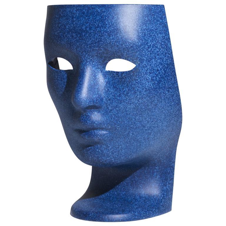 """""""Nemo"""" Denim Colored Head-Armchair Designed by Fabio Novembre for Driade, 2017 For Sale"""