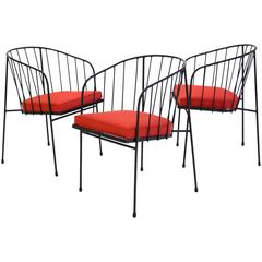 Set of Three George Nelson Chairs for Arbuck
