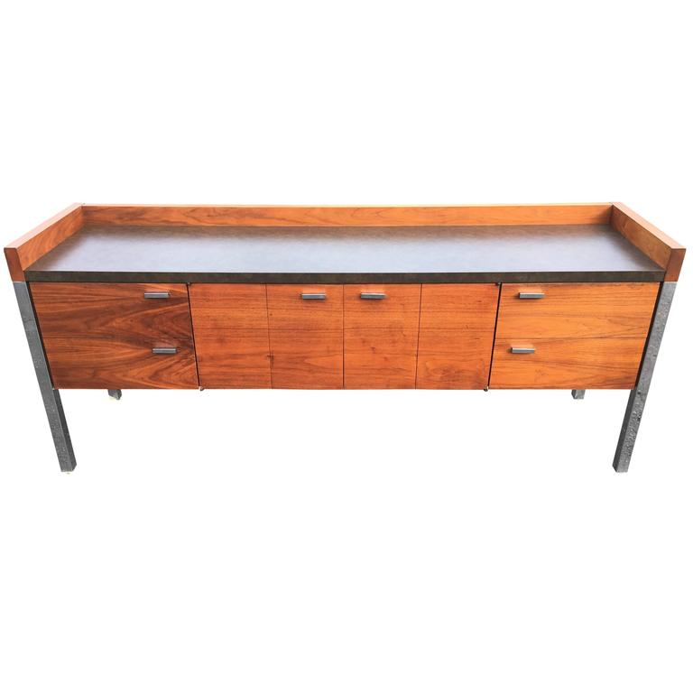 Mid Century Credenza For Sale: Mid-Century Modern Office Credenza For Sale At 1stdibs