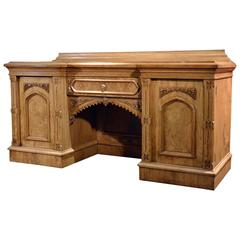 Large Antique Sideboard Buffet, Victorian, circa 1880