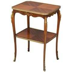 Attractive Mahogany and Rosewood Table