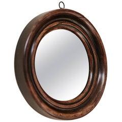 19th Century Mahogany Framed Mirror