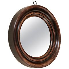 19th Century Mahogany Framed Mirror