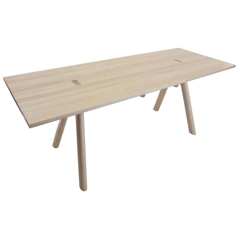 Watney Dining Table, Solid Rock Maple