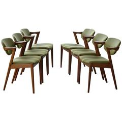 Kai Kristiansen Model 42 Z Teak Dining Chairs