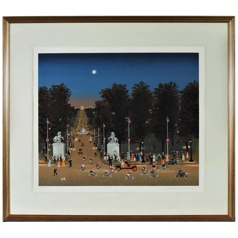 Michel Delacroix Signed and Numbered Lithograph