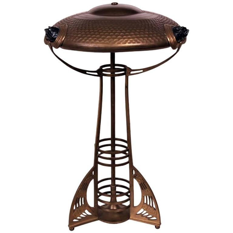 Wiener Werkstätte Style Table Lamp