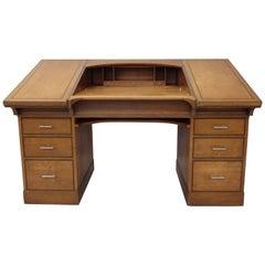 Johann Tapp Custom Built Art Deco Artists Drafting Desk with Hidden Compartments