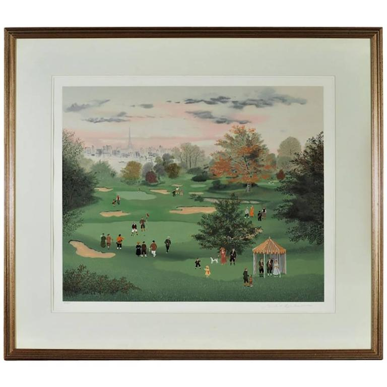 Michel Delacroix, Signed and Numbered Lithograph