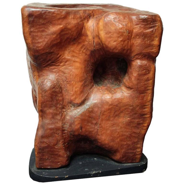 Edmund Spiro Wood Sculpture