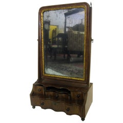18th century Queen Anne Shaving Mirror
