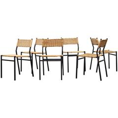 Set of Six Martin Visser Dining Chairs