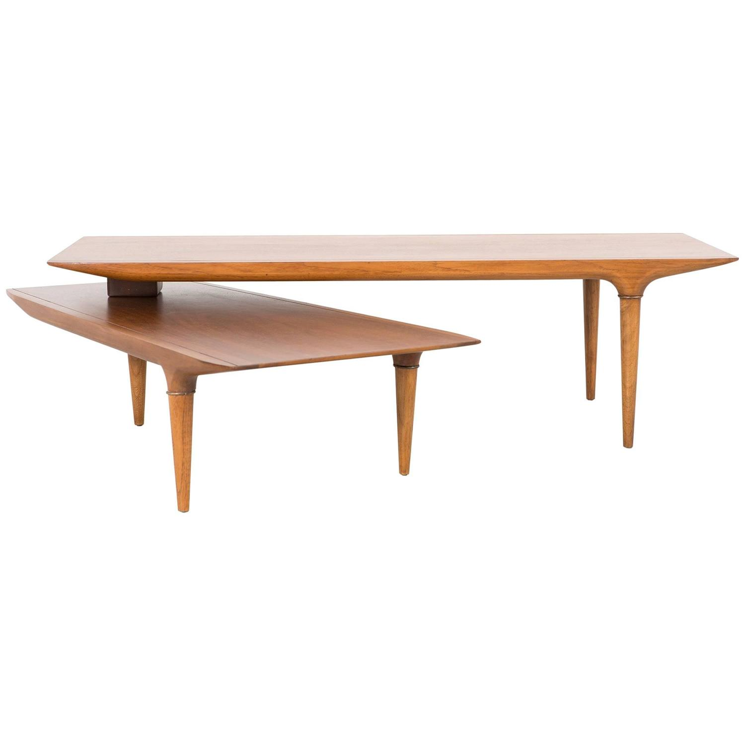 Mid Century Modern Lane Switchblade Coffee Table at 1stdibs