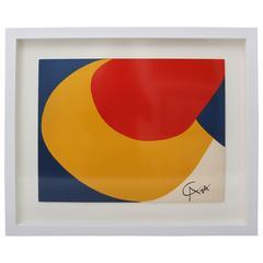 Alexander Calder Print, circa 1974-1975