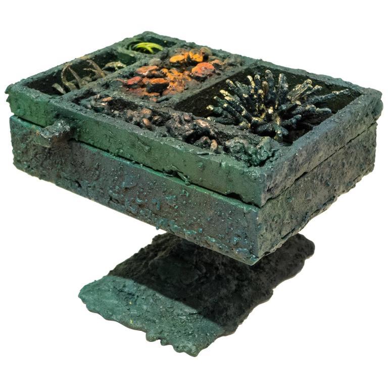 "James Bearden ""Segment Jewelry Box on Pedestal"""