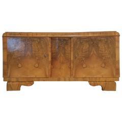 Art Deco Cabinet, Root Wood