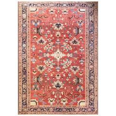 """Antique Serapi Carpet, 9'2"""" x 13'3"""",  Master Piece"""