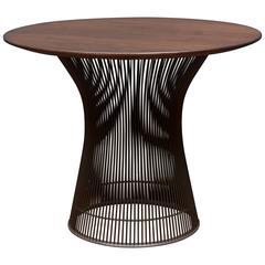Platner Walnut Side Table for Knoll