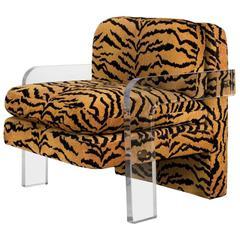 Lucite Lounge Chair Vladimir Kagan