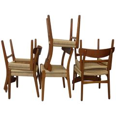 Set of Six Hans Wegner for Carl Hansen Restored Dining Chairs