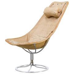 1960s Bruno Mathsson 'Jetson' Chair Canvas for DUX