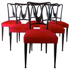 Chairs in the Style of Guglielmo Ulrich