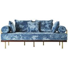 Bespoke Two Seater Sofa in Modelli Fabrics, Fantasia Collection by P. Tendercool