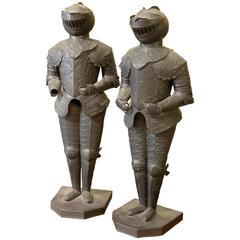Pair of Miniature Suits of Armour