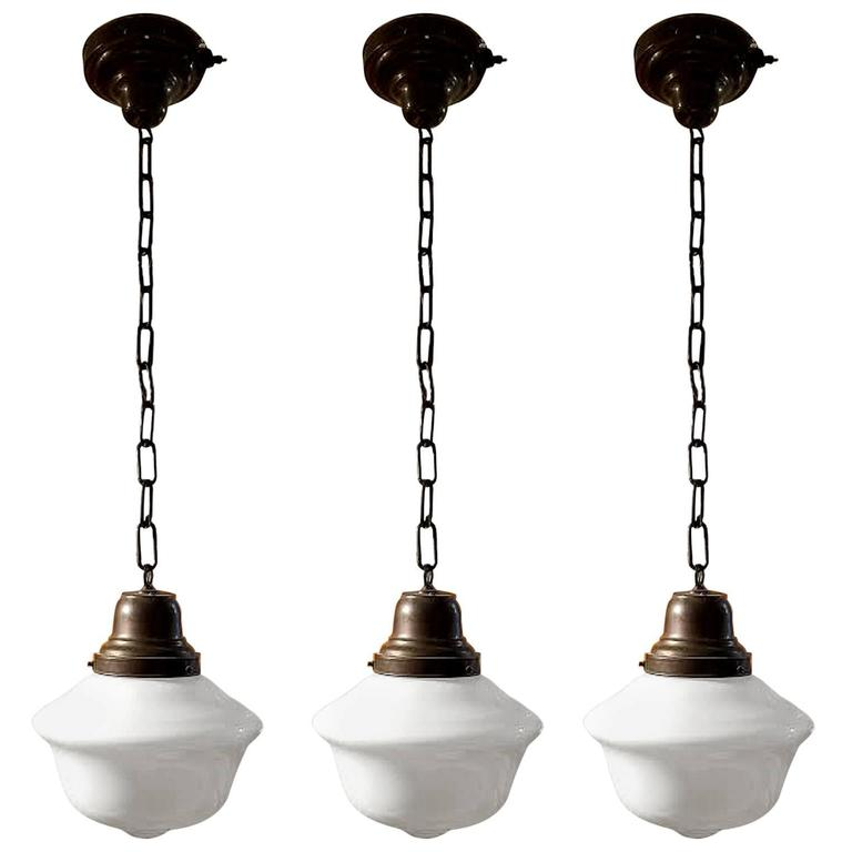 Vintage 1920s schoolhouse pendant lights for sale at 1stdibs vintage 1920s schoolhouse pendant lights for sale aloadofball Image collections