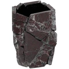 Crushed Marble Vase from the Corporate Marble series by Soft Baroque