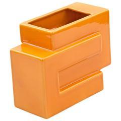 Orange Vase by Pino Spagnolo