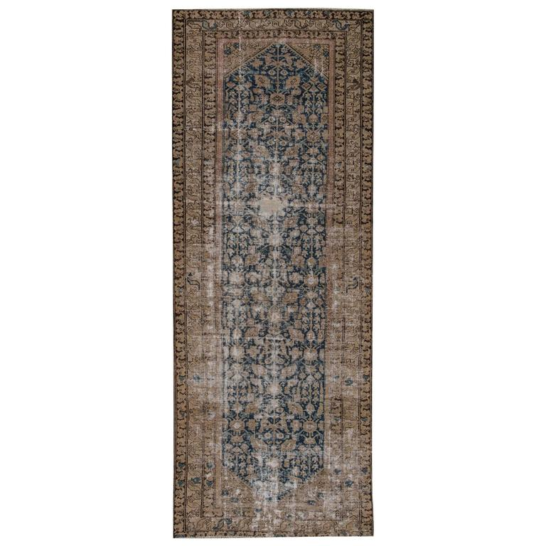 Nice looking distressed antique malayer rug for sale at for Nice rugs for sale