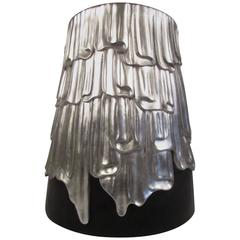 Jonathan Charles Draped Lamp Table