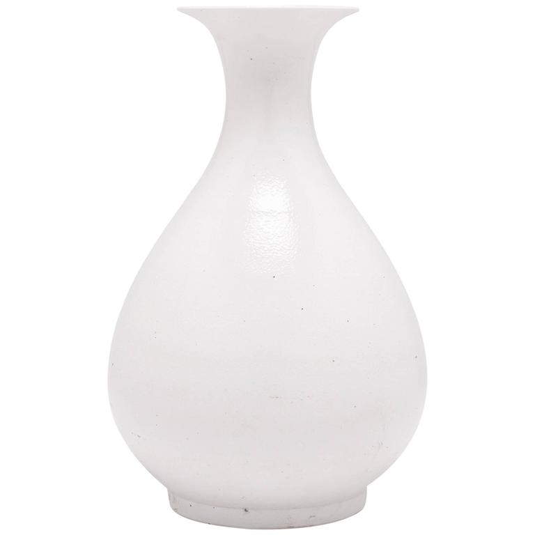 Chinese Cloud Fantail Vase