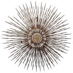 Ron Schmidt Designed Mid-Century Sunburst Art