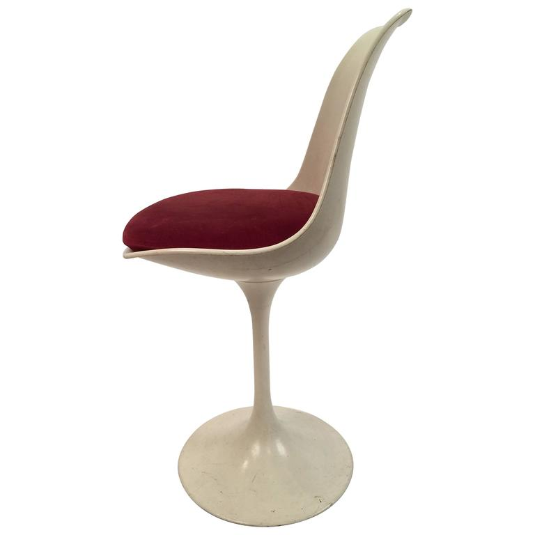 counter height eero saarinen tulip style chair for sale at 1stdibs