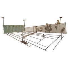 Rare Mid-Century Tennis Art by C. Jere