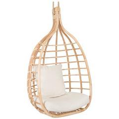 Santorini Natural Rattan Hanging Chair