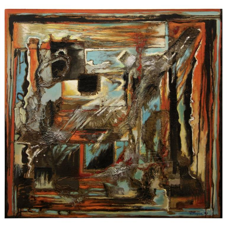 George Dergalis Abstract from 1990
