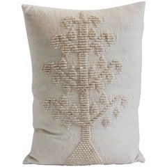 Folky Monumental Alpaca Lambs Wool Tree of Life Pillow