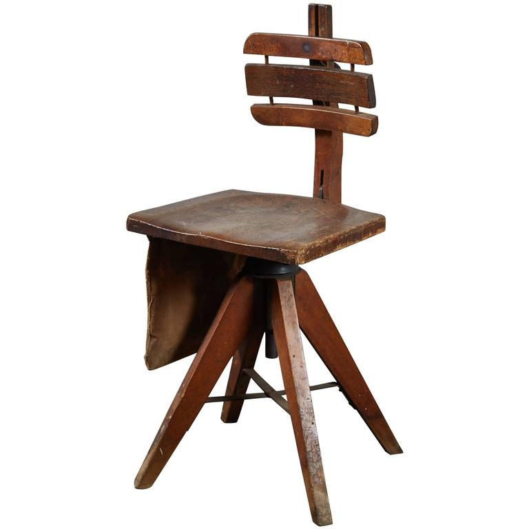 Artist S Stool By Cook Cambridge At 1stdibs