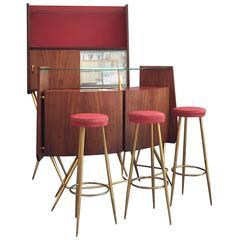 Awesome Bar Set Ico Parisi Style