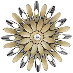 Sculptural Space Age Wall Sconce by Esperia, Italy, 1980