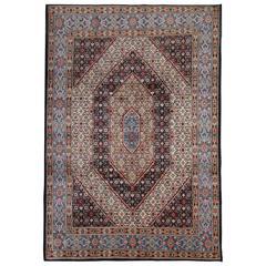 Vintage Persian Rugs, Handmade Carpet from Khorassan